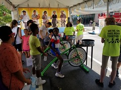 ITA_IDC_SHA_PedBikeSpinArtscape_072019_004 (Idle Time Ads) Tags: streetteam publicoutreach itapromotions idletimeadvertising maryland washington dc virginia artscape baltimore pedestriansafety bicyclesafety spinart mdot sha