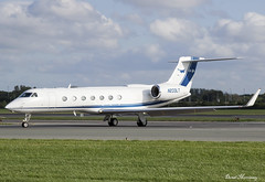 TVPX Aircraft Solutions Inc Trustee G550 N233LT (birrlad) Tags: dublin dub international airport ireland aircraft aviation airplane airplanes bizjet private passenger jet arrival arriving landed runway taxi taxiway tvpx solutions inc trustee g550 n233lt gulfstream aerospace