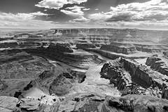 Dead Hors Point~ (vahidss9) Tags: utah summer moab deadhorsepoint statepark canyonlands nationalpark clouds bw blackandwhite sky rocks landscape fineart nikond810 nikon g2 tamron2470mmf28g2