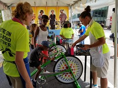ITA_IDC_SHA_PedBikeSpinArtscape_072019_053 (Idle Time Ads) Tags: streetteam publicoutreach itapromotions idletimeadvertising maryland washington dc virginia artscape baltimore pedestriansafety bicyclesafety spinart mdot sha