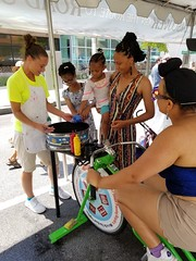 ITA_IDC_SHA_PedBikeSpinArtscape_072019_024 (Idle Time Ads) Tags: streetteam publicoutreach itapromotions idletimeadvertising maryland washington dc virginia artscape baltimore pedestriansafety bicyclesafety spinart mdot sha
