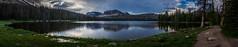 Mirror Lake Panoramic (laughlinc) Tags: uintahmountains nikon7200 utah uintah lake landscape laughlinc mirrorlake
