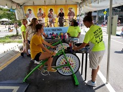 ITA_IDC_SHA_PedBikeSpinArtscape_072019_015 (Idle Time Ads) Tags: streetteam publicoutreach itapromotions idletimeadvertising maryland washington dc virginia artscape baltimore pedestriansafety bicyclesafety spinart mdot sha