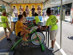 ITA_IDC_SHA_PedBikeSpinArtscape_072019_014 (Idle Time Ads) Tags: streetteam publicoutreach itapromotions idletimeadvertising maryland washington dc virginia artscape baltimore pedestriansafety bicyclesafety spinart mdot sha