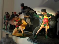 Batman and Robin (wrlord2001) Tags: batman robin justiceleague