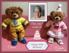 """I am (aka martian cat)  Celebrating my Happy 65th Birthday with my teddy bears!"" (martian cat) Tags: ribbet chrisakamartiancat cards ©martiancatinjapan allrightsreserved© theperfectpinkdiamond ©allrightsreserved martiancatinjapan© ☺allrightsreserved allrightsreserved ☺martiancatinjapan martiancat martiancat© ©martiancat martiancatinjapan celebration card happybirthday 65thbirthday macro teddybearsinjapan© ©teddybearsinjapan teddybearsinjapan teddybearsinjapan☺ ☺teddybearsinjapan happy65thbirthday teddybear teddybears collectibles hobbies creativity collectible motivational motivationalposter yokohama japan"