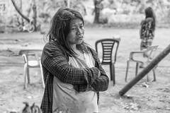 Resignación guaraní (Fabio Galluppi) Tags: mujer guaraní originario embarazada pregnant resignación tristeza sadness retrato aborigen indigenous people