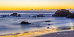 Sunrise at Flynns Beach, NSW (Peter.Stokes) Tags: beach coast australia coastline winter sea sky colour nature water clouds sunrise landscape outdoors photography landscapes photo waves australian vacations flynnsbeach