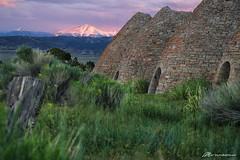 Wheeler Peek-a-Boo (Matt Straite Photography) Tags: color sunset wheeler national nationalpark ward ovens landscape mountain tripod zoom