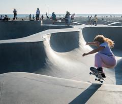 Girl Skater at Venice Beach Skatepark - Los Angeles, CA (ChrisGoldNY) Tags: chrisgoldphoto chrisgoldny chrisgoldberg bookcovers albumcovers licensing sonyalpha sonyimages sonya7rii venice venicebeach losangeles california socal cali westcoast usa america venicebeachskatepark venicebeachskateplaza skater skate skateboard skateboarding skatergirl badass girlpower girls skateboards skatepark californian