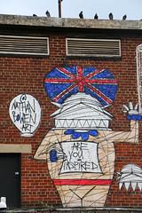 Street Art- Camden Town,  London (Rick & Bart) Tags: art buckstreet london uk city urban camdentown rickvink rickbart canon eos70d graffiti graffitiart nathanbowen