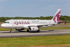 A7-MBK Airbus A320-232(CJ) Prestige Qatar Amiri Flight (Andreas Eriksson - VstPic) Tags: a7mbk airbus a320232cj prestige qatar amiri flight arrived rwy 08 from bangor
