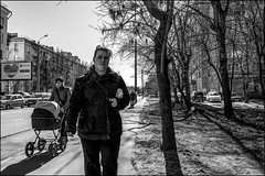 DRD160405_0739 (dmitryzhkov) Tags: urban city everyday public place outdoor life human social stranger documentary photojournalism candid street dmitryryzhkov moscow russia streetphotography people man mankind humanity bw blackandwhite monochrome
