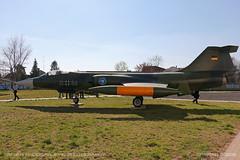 F-104G Starfighter (srkirad) Tags: aircraft airplane jet military f104 starfighter german american reptar aviationmuseum aviation museum sunny szolnok hungary travel