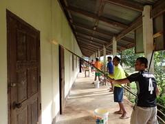 Repainting the primary school