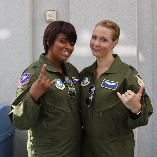 Maria Rambeau and Carol Danvers
