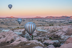 Morning Magic... (glendamaree) Tags: travel turkey cappadocia hotairballoon sunrise landscape