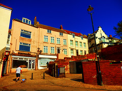 Scarborough, North Yorkshire, UK (photphobia) Tags: scarborough seasidetown northridingofyorkshire coast yorkshire england uk europe oldtown oldwivestale outside outdoor buildings street streetphotos