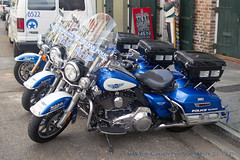 New Orleans Police (Martijn Groen) Tags: neworleans louisiana nola unitedstates usa november 2017 police lawenforcement emergency policebike policemotorcycle motorcyclecops harleydavidson roadking policeflhp flhp