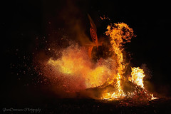 The Baining tribesman is moving through the fire during the Rabaul Mask Festival. The fire dance performed outside of its traditional context is losing sacredness and does not get as much respect as it deserves. (Catherine Gidzinska and Simon Gidzinski) Tags: 2019 bainingfiredance firedance july kokopo maskfestival png papuanewguinea rabaulmaskfestival warawangira warawangiramaskfestival dance fire gidzinska gidzinski grainconnoisseur ngc papua