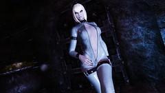 Edina Ferwind (XMymy007X) Tags: skyrim enb tesv lady sexy latex white