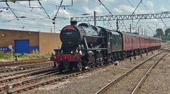 Charter Arrival (Jeff Mckever) Tags: 48151 class8f280 carlisle york thedalesman chartertrain railway 23rdjuly2019