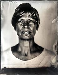 Melissa (fitzhughfella) Tags: wetplate tintype collodion ether silvernitrate graflexspeedgraphic kodakaeroektar 4x5 largeformat darkroom victorianphotography