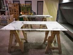 Island-top-Arabescato (AcemarStone) Tags: arabescato marble white polished kitchen countertop worktop ombra caravaggio vagli bathroom island vanity