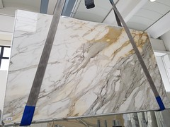 Calacatta-Borghini-Macchia-Vecchia (AcemarStone) Tags: calacatta gold oro marble white polished honed slabs tiles bathroom kitchen worktop countertop italy italian borghini bettogli