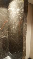 Ombra-di-caravaggio-brown-marble-wall (AcemarStone) Tags: arabescato marble white polished kitchen countertop worktop ombra caravaggio vagli bathroom island vanity