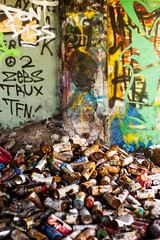 They Say One Day (Thomas Hawk) Tags: america california eureka humboldtcounty humboldtgasworks northerncalifornia usa unitedstates unitedstatesofamerica abandoned graffiti spraypaint spraypaintcans fav10 fav25