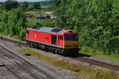 STP From Milford (JohnGreyTurner) Tags: br rail uk railway train transport brocklesby lincolnshire lincs diesel engine locomotive freight goods 60 class60 tug ews db dbs dbc