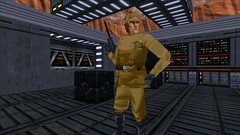 Imperial Officer #2 (BarricadeCaptures) Tags: starwars starwarsjediknightdarkforces2 starwarsjediknightdarkforcesii starwarsjediknight jediknightdarkforces2 jediknightdarkforcesii jediknight darkforces2 darkforcesii thevalleytowerascent ruusan imperial imperialofficer blasterpistol cargo cargocrates crates cargocontainers containers boxes gamescreenshots gamephotography videogame screencapture screenshot screencap