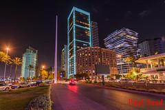 Beirut (Paul Saad) Tags: lebanon beirut night longexposure phoenicia hotel architectuer lights street nikon d850