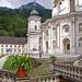 Kloster Ettal (43) - Innenhof - Außentreppe