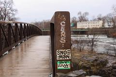 Cers, Snoeman (NJphotograffer) Tags: graffiti graff new jersey nj cers snoe snoeman sticker