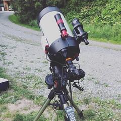 The Setup! (MrMikolajczyk) Tags: telescope avxmount guidescope asi120mm asi asiairmini setup astronomy ota sonya7ii sony celestron