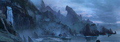 Uncharted 4 - A Thief's End (Matze H.) Tags: uncharted 4 a thief's end nathan drake playstation 5 pro uhd hdr 4k wallpaper panorama beach coast cliff storm thunder waves ocean sea water fall mountains clouds dark night evening