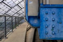 Stadium detail (timnutt) Tags: olympiastadion building germany city sportsday fujifilm x100 1970s olympicpark architecture x100t fuji bavaria venue munchen munich olympics olympicstadium