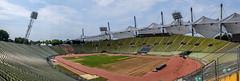 Panorama (timnutt) Tags: olympiastadion building bowl germany city sportsday fujifilm x100 seating 1970s seats munich olympicpark architecture x100t fuji bavaria venue munchen arena olympics olympicstadium