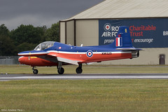 XW325 (Baz Aviation Photo's) Tags: xw325 gbwgf bac jet provost t5 royal air force classicjets riat fairford