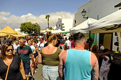 Red Necks (RadarO´Reilly) Tags: tattoo markt market street streetphotography streetlife teguise lanzarote kanaren canaryislands spanien spain