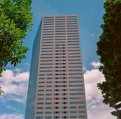 Portland, Oregon (bior) Tags: portland oregon hasselblad500cm hasselblad portra portra160nc kodakfilm expiredfilm mediumformat 120 square city building street tower