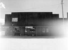 Red Rock Café (LarsHolte) Tags: pentax 645 pentax645 645n 6x45 smcpentaxa 35mm f35 120 film 120film analog analogue kosmo foto mono 100iso mediumformat blackandwhite classicblackwhite bw monochrome filmforever filmphotography ishootfilm d76 larsholte homeprocessing usa wyoming hulett architecture western