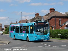 Blacon Pointer (Cymru Coastliner) Tags: arrivabuseswales vdlsb200 wrightpulsar2 3142 cx12dsy bus blacon blaconpointer chester
