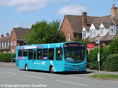 Blacon Pointer (2) (Cymru Coastliner) Tags: arrivabuseswales vdlsb200 wrightpulsar2 3141 cx12dsv bus blacon chester blaconpointer