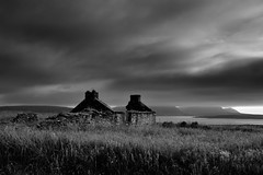 Long forgotten (images@twiston) Tags: forgotten abandoned ruin derelict croft farm building farmhouse scapaflow hoy mainland orkney scotland island sky dark brooding moody cloud clouds landscape imagestwiston farnorth mainlandorkney highlands islands northernisles bw mono blackandwhite monochrome nisi nisifilters gnd neutraldensity grad