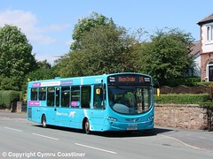 Blacon Pointer (3) (Cymru Coastliner) Tags: arrivabuseswales vdlsb200 wrightpulsar2 3142 cx12dsy bus chester blaconpointer blacon