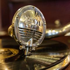 Gramophone stylus (1) (babs pix) Tags: gramophone recordplayer record
