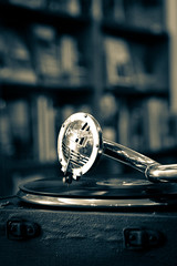 Gramophone stylus (2) (babs pix) Tags: gramophone recordplayer record